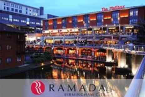Ramada Hotel - In Birmingham One Night Stay For Family of Four With Breakfast and Entry to Sea Life Centre - Save 58%