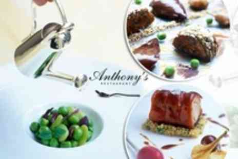 Anthony's Restaurant - Seven-Course Tasting Menu and Amuse Bouche With Wine Flight For Two (£99) or Four (£189) at Anthony's Restaurant (Up to 57% Off) - Save 57%