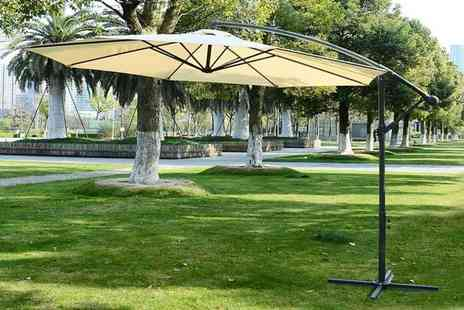 MHstar - 3m parasol choose from 2 colours - Save 67%