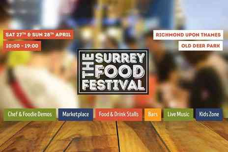 The Surrey Food Festival - Day ticket to Surrey Food Festival - Save 37%