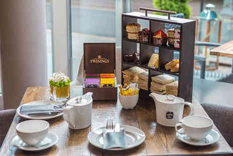 Hilton Garden Inn - Choice of afternoon tea for two people or include a glass of fizz each - Save 30%