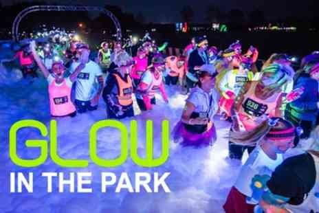 Glow In The Park - One or Four glow runner tickets to Glow in the Park on 6 and 27 April - Save 27%