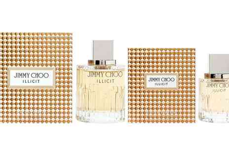 Groupon Goods Global GmbH - Jimmy Choo Illicit Eau de Parfum 40ml, 60ml or 100ml Spray - Save 40%