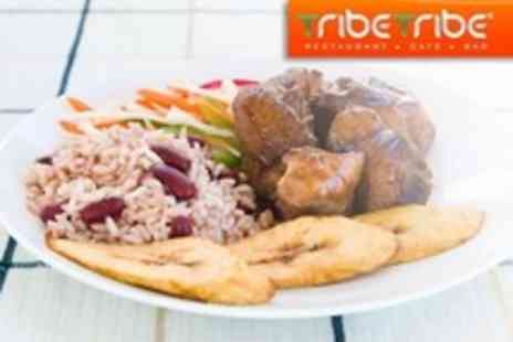 Tribe Tribe - Two Courses of African Fare With Sides and Coffee For Two People - Save 51%