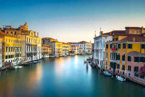 Bargain Late Holidays - Four Star Two nights Venice Italy break including return flights and a gondola ride - Save 32%