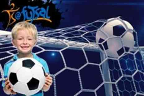 Futsal - Football Party For Ten Children With Food - Save 74%