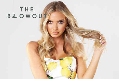 The Blowout - Luxury professional blow dry with a glass of Champagne - Save 0%