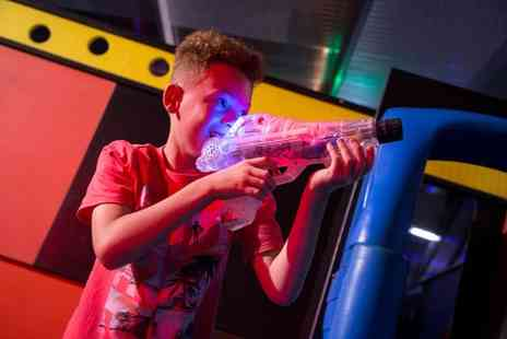 Gullivers - Ticket to the Blast Arena play at the Nerf Target Range, Bazooka Archery and more - Save 43%