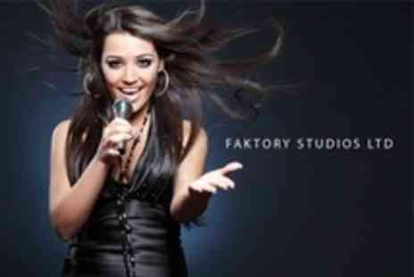 Faktory Studios - Professional Recording Session For Up to Two With Take Home CD - Save 72%