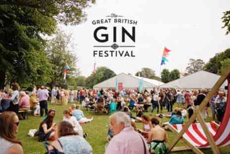 The Great British Gin Festival 2019 - One standard or VIP ticket to The Great British Gin Festival on 6 April To 14 September - Save 25%