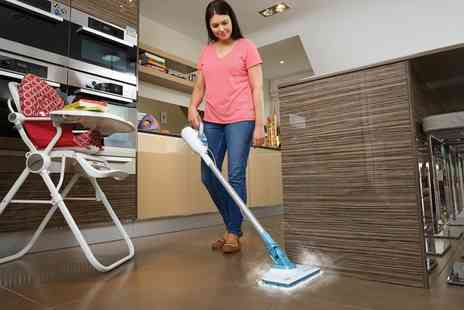 Groupon Goods Global GmbH - Black And Decker Seven in One Floor Extension Steam Mop With Free Delivery - Save 11%