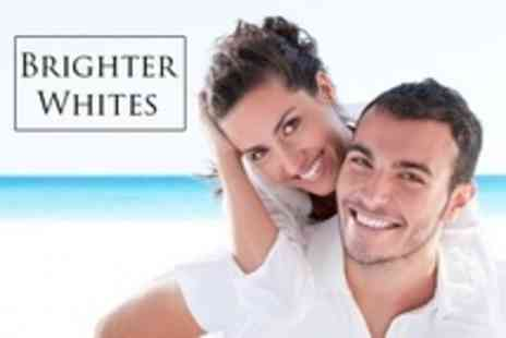 Brighter Whites - Teeth Whitening With Deep Clean for One (£59) or Two People (£99) at Brighter Whites (Up to 75% Off) - Save 75%