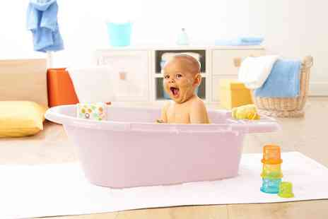 Groupon Goods Global GmbH - Baby Top Bath with Drain and Optional Anti Slip Mat - Save 0%