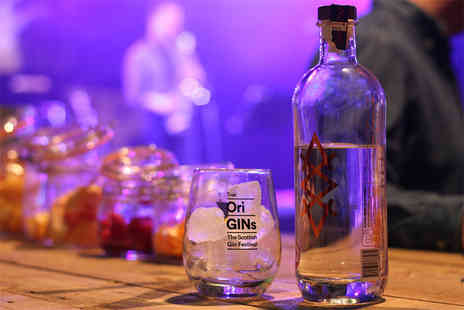 True OriGINs - One session ticket for two people to The Scottish Gin Festival choose an afternoon or evening session from 29th March To 1st June - Save 52%