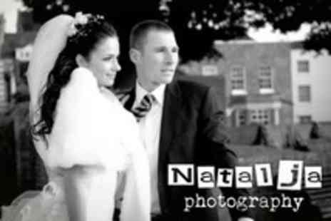 Natalja Wedding Photography - Wedding Photography Package With Ten 7x5 Prints and a CD of Digital Images - Save 46%