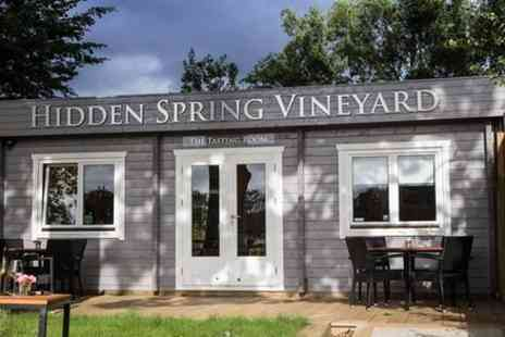 Hidden Spring Vineyard - Tour and Tasting Experience - Save 0%