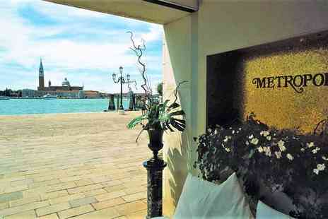 Hotel Metropole - Five Star Eclectic Design Hotel Overlooking the Lagoon - Save 68%