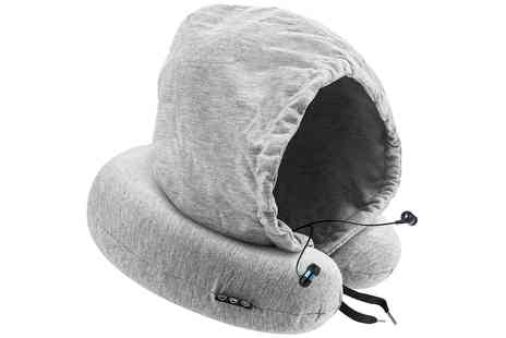 Groupon Goods Global GmbH - Apachie Bluetooth Travel Pillow with Headphones - Save 47%