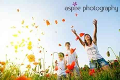 Aspire Photography - Location Photo Shoot With Prints - Save 84%