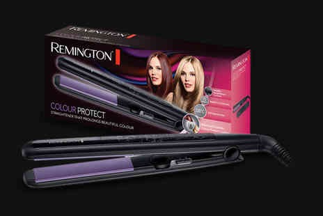 Active MS - Pir of Remington S6300 colour protect hair straighteners - Save 0%