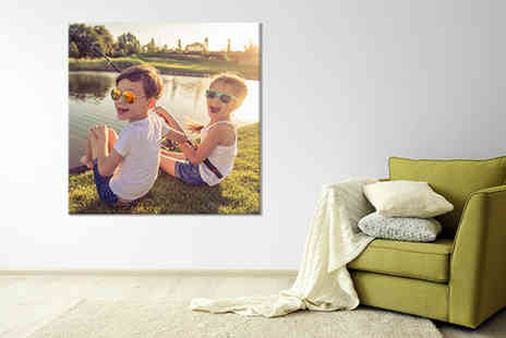 Discount Photo Prints - 10x10 Inch canvas print or 12x12 Inch print - Save 93%