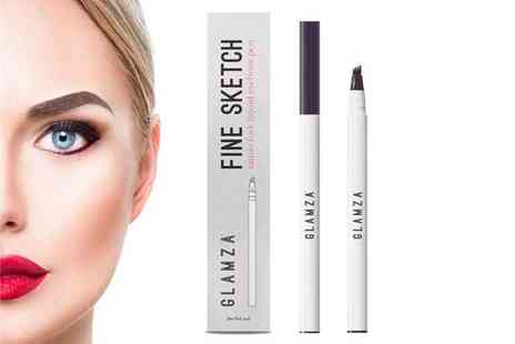 Forever Cosmetics - Glamza liquid eyebrow pen choose from three colours - Save 50%