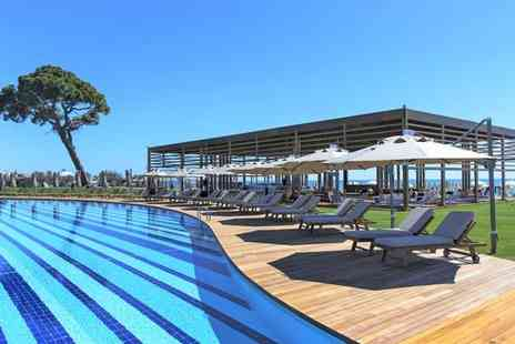 Rixos Premium Belek - Breathtaking Beachfront Stay with Land of Legends Package for two - Save 52%