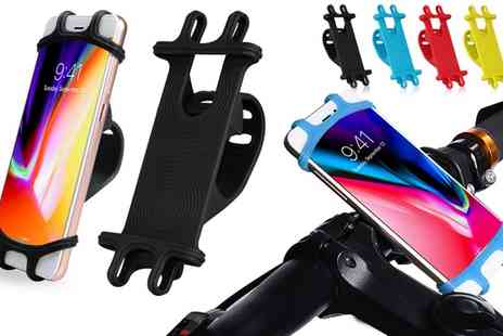 Groupon Goods Global GmbH - One, Two or Four Aquarius Silicone Bike Mounts - Save 80%