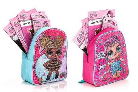 Dream Price Direct - LOL Surprise backpack and craft set choose from two designs - Save 44%