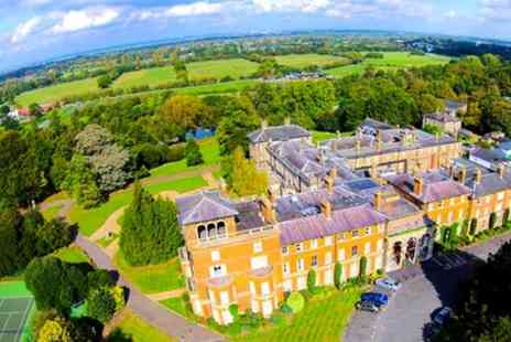 Oatlands Park Hotel - Classic or Deluxe Room for Two with Breakfast, Dinner and Option for Prosecco - Save 41%