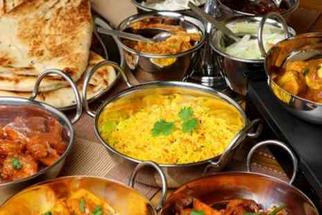 The Grosvenor Hotel - Indian Meal with Poppadoms, Steamed Rice or Plain Naan and Wine for Two or Four - Save 51%