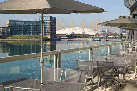 Novotel London Excel - Four Star Chic Docks Hotel and River Cruise Experience for two - Save 65%