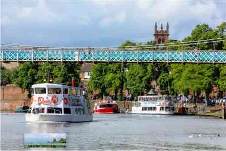 Virgin Experience Days - Family Chester City River Sightseeing Cruise - Save 0%