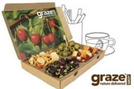 Graze - Four Healthy Snack Boxes - Save 63%