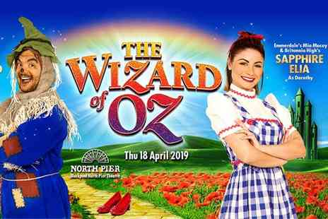 Shone Productions - Ticket to The Wizard of Oz Easter pantomime on the 18th April choose from two performance times - Save 39%