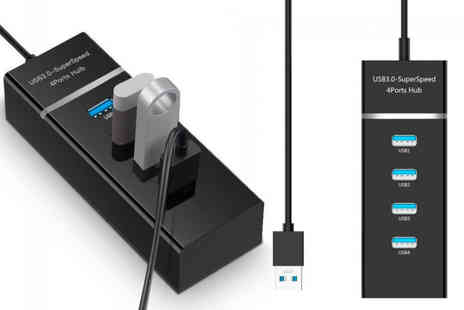Wow What Who - Four port Usb 3.0 adaptor - Save 65%