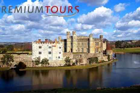Premium Tours - One child ticket to a Leeds Castle, Canterbury, Dover and Greenwich tour - Save 50%
