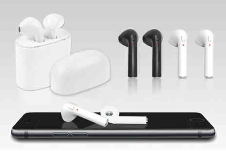 Wow What Who - Pair of wireless Bluetooth earphones - Save 77%