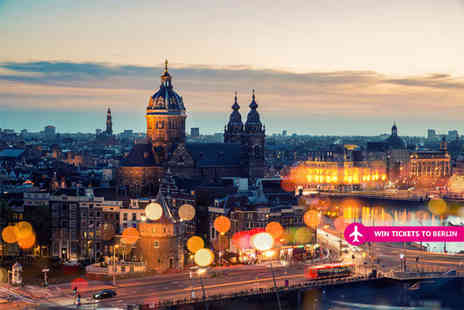 Weekender Breaks - Two nights Amsterdam stay with return flights and a chance to win a Berlin trip - Save 28%