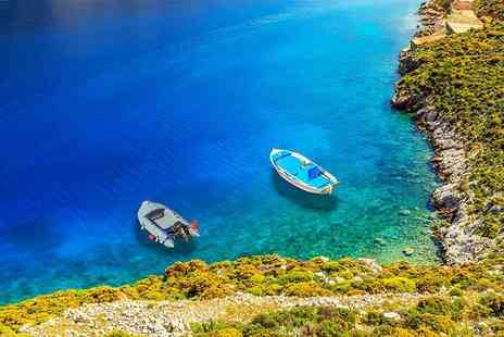 Super Escapes Travel - Four Star Seven nights all inclusive Rhodes beach break with return flights - Save 26%
