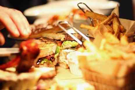 The Rotisserie Hub - Sandwich with Chips, Coleslaw and Soft Drink for Two or Four - Save 27%
