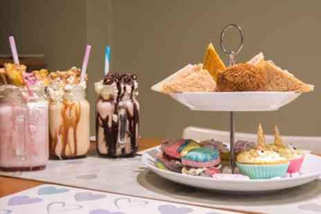 The Duke Deli - Unicorn Afternoon Tea for Two or Four - Save 50%