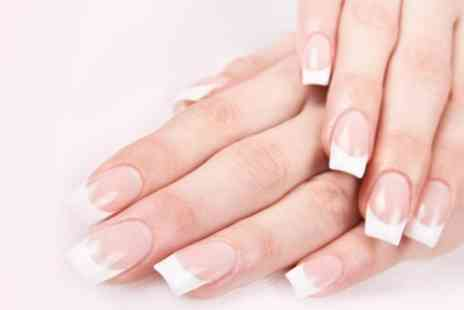 Skins and Needles Laser and Beauty - Full Set of Acrylic or Ombre Nails with Gel - Save 60%