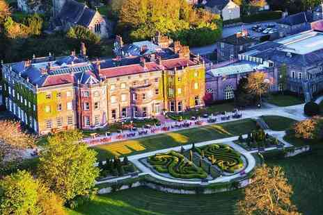 Nidd Hall Hotel - Aternoon tea for two people - Save 32%