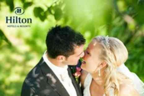 Hilton Hotel - Wedding Package Three Course Wedding Breakfast and Drinks For 50 Guests Plus Evening Reception - Save 64%