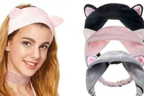 Groupon Goods Global GmbH - One, Two or Three Cat Ears Make Up Headbands - Save 0%