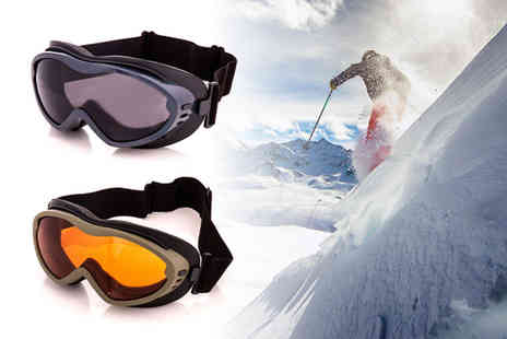 Dream Price Direct - Pair of adult ski goggles choose from two colours - Save 0%