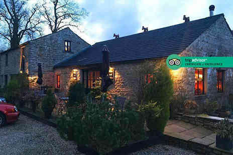 The Old Dairy Farm - Two nights Yorkshire Dales stay for two people including a full English breakfast each morning and a two course dinner - Save 0%