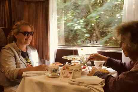 Dartmoor Railway - Mothers Day vintage train ride with afternoon tea for two - Save 34%