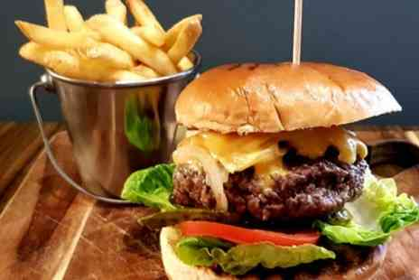 The Bushwick Bar and Grill - Burger and Fries for Two or Four - Save 53%
